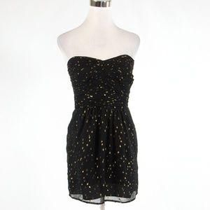 Black ANTHROPOLOGIE SHOSHANNA A-line dress 2